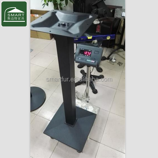 Height 1080mm High bar metal cast iron table bases metal china supplier