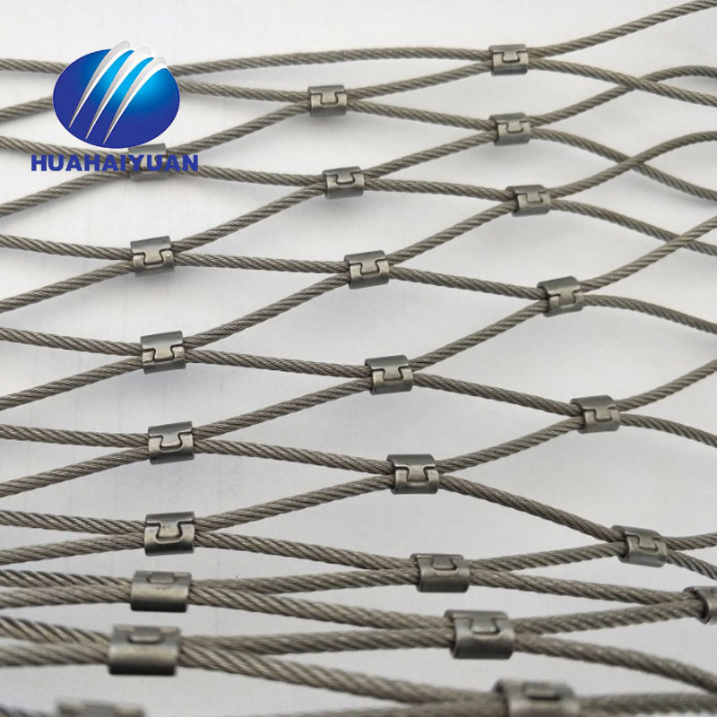 Sus304 Wire Rope Netting Rope Wire Mesh Stainless Steel Animals ...