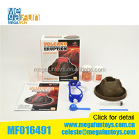 2014 new product DIY test kit - volcanic eruptions science kit education toys for children