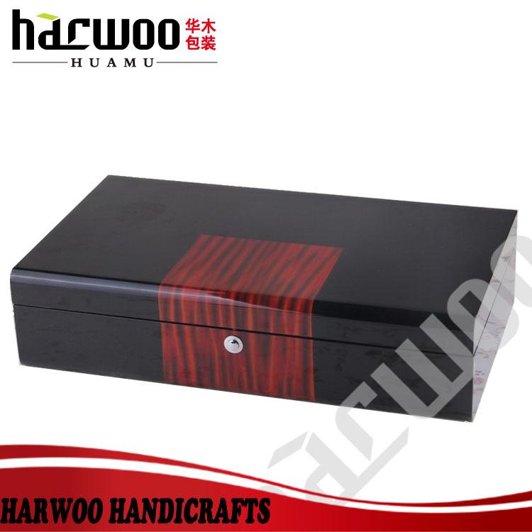 Luxury black wood tie storage box  sc 1 st  Alibaba & Luxury Black Wood Tie Storage Box - Buy Tie Storage BoxWood Tie ... Aboutintivar.Com