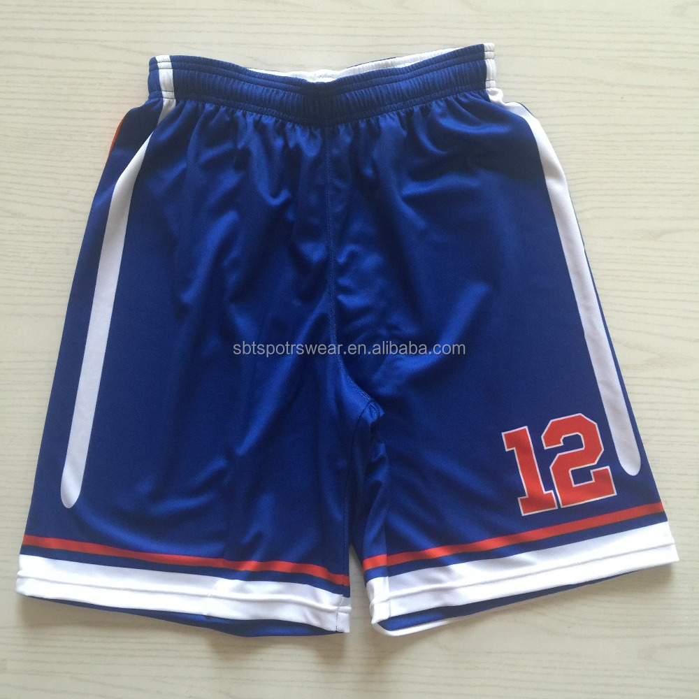 Digitale Sublimations-Basketball-Shorts für Männer
