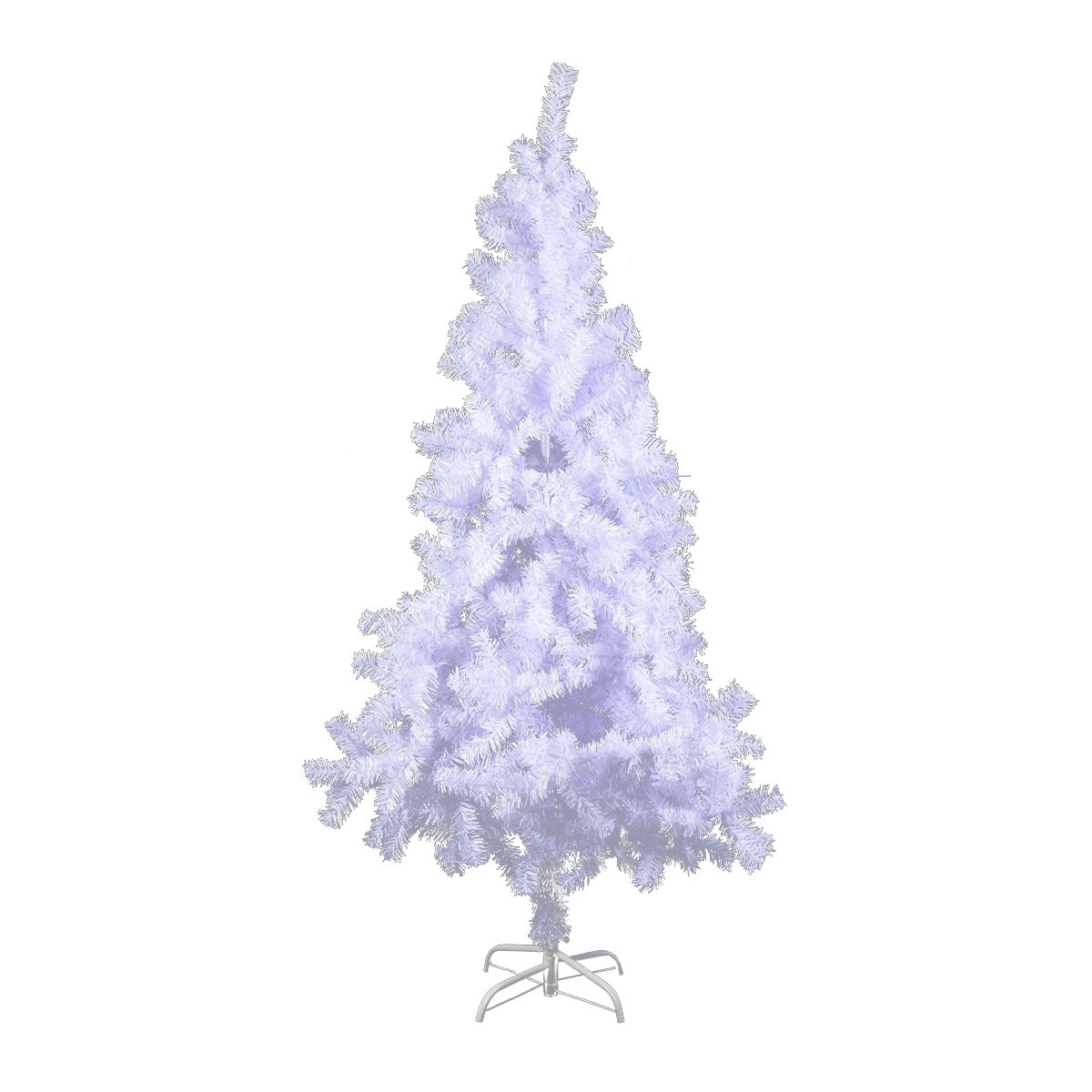 get quotations 5ft6ft7ft8ft snow white christmas tree wstand artificial pvc