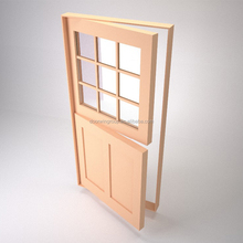 Doorwin wooden single main door design entrance front dutch doors commercial interior half doors