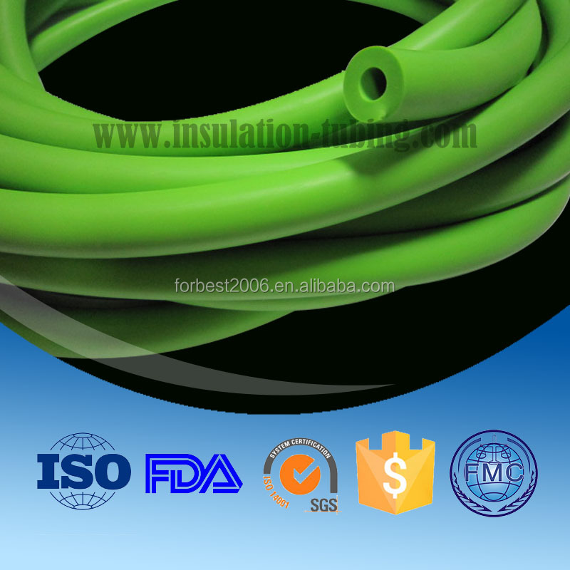 Good elatic latex rubber tube/latex hose for sports and exercise