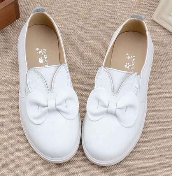 Wholesale Children Shoes Kids Sneaker For Girls bowknot Shoes With soft Sole