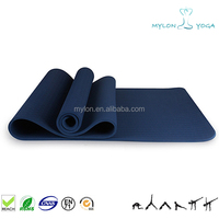 New Arrival Eco-Friendly Pvc Or Eva Extra Thick Deluxe Yoga Mat 1/2 Inch For Home Gym