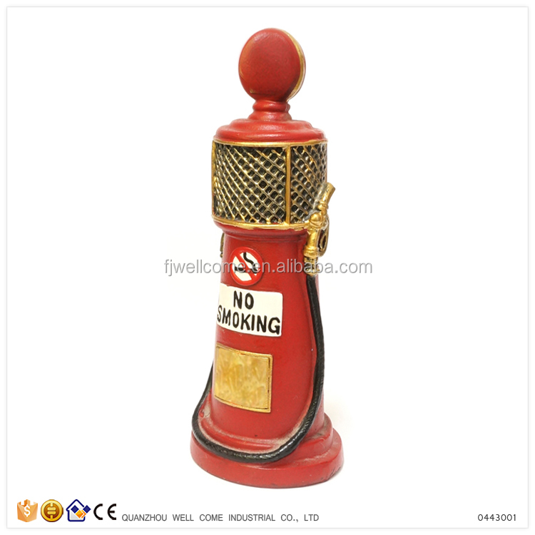 Custom Resin Toy Fuel Pump Shaped Bulk Piggy Bank
