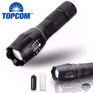 Zoomable Lumen G700 Rechargeable Tactical T6 Led Flashlight Torch