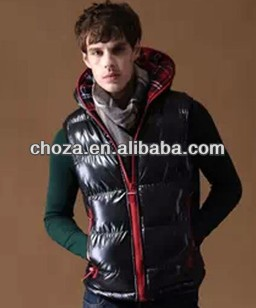 C21507A WHOLESALE WINTER MAN DOWN FEATHER WAISTCOAT JACKET