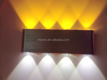 Wholesale Hot Sale 8W Led Wall Lamp for Fitting Aluminum for Aisle ...