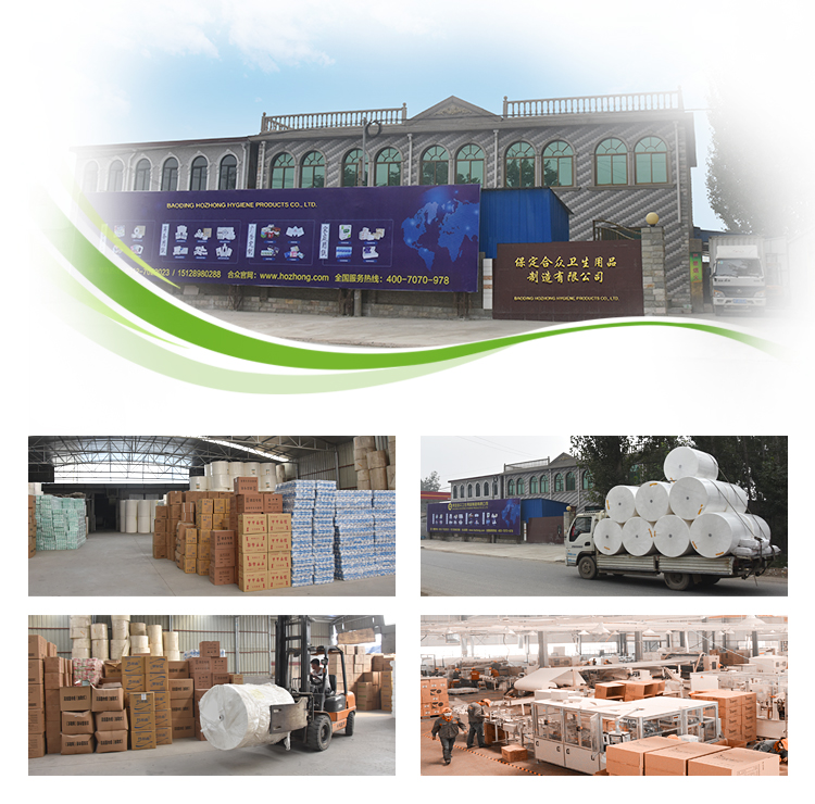 China Supplier Recycled Pulp Toilet Tissue Toliet Rolls Paper