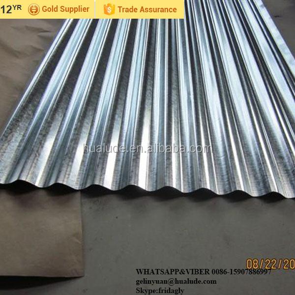 Calamina Chapa Lamina Ondulada Galvanizada Zinc Aluminio