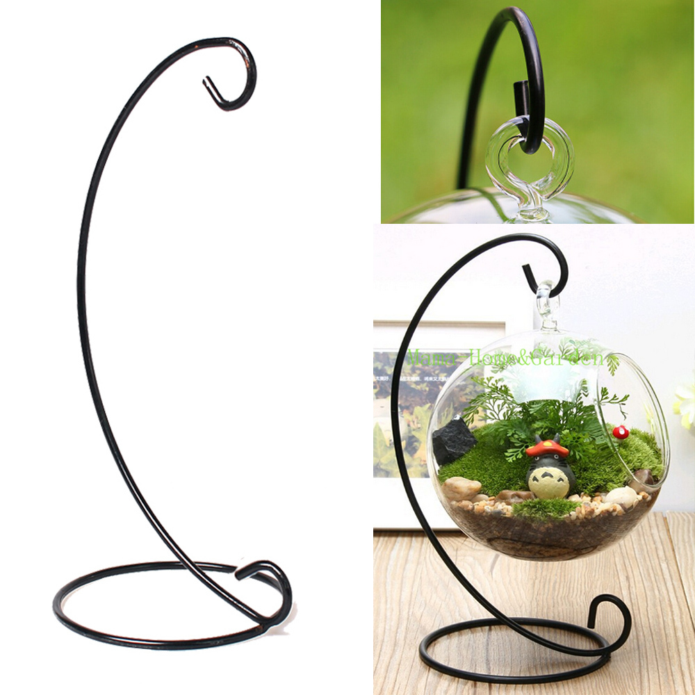 Wonderful Metal Hanging Plant Stand Part - 7: Get Quotations · Flower Plant Stand Hanging Vase Hydroponic Home Office  Wedding Decor Metal Plant Holders Hanging Vase Planter