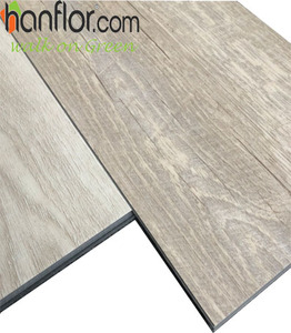 Luxury Waterproof Click Lock vinyl plank flooring with SGS/CE certificate