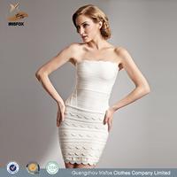 New York strapless mini prom dress latest design