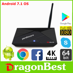 Factory directly sell Pendoo X10 Pro S912 3G 32G tv box full hd 1080p with low price Android 6.0 OS Set Top Box