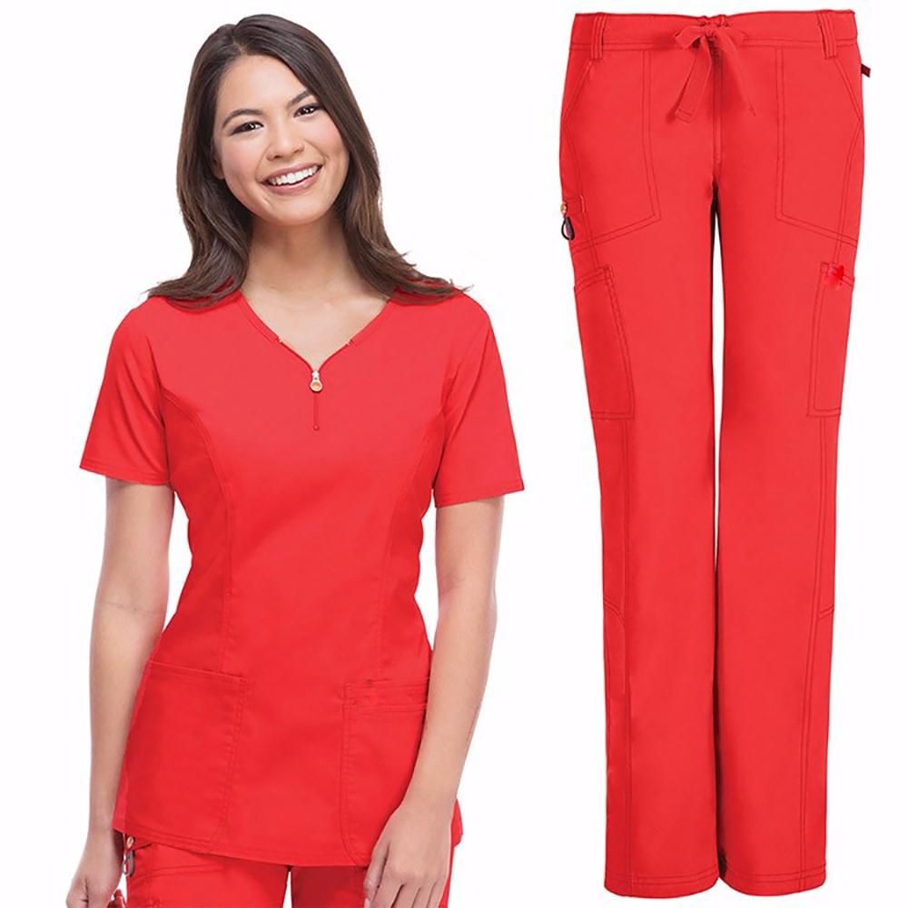 Women Beautitiful Cheap Nursing Scrubs