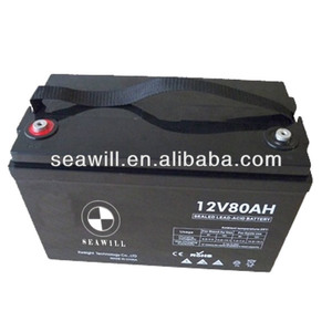 Medical Equipment/UPS/lighting lead acid battery 12v 80Ah used for