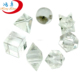 Crystal Quartz 7pcs Geometry Set with Wooden Box : Khambhat Platonic Solid