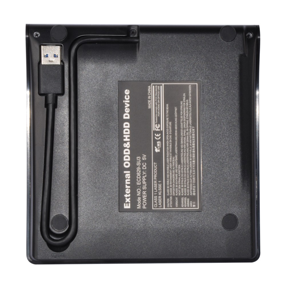 E-Sun 12.7mm USB 3.0 ODD Case External optical drive enclosure