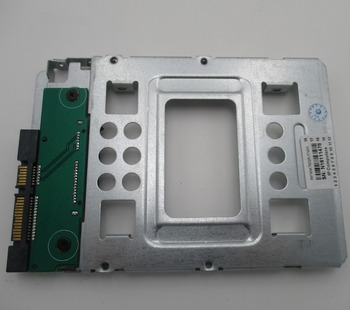 Brand new for hp 2.5 sata sas hdd to 3.5 bracket bay tray 651314-001 654540-001