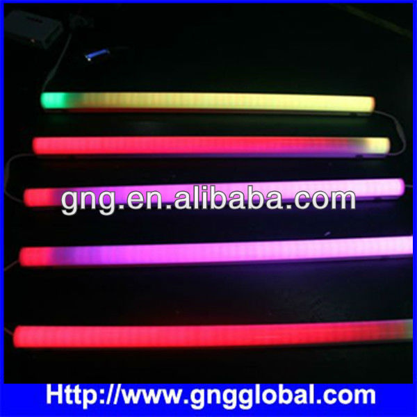 DMX Led Video Tube, Madrix Compatible t8 led tube rgb