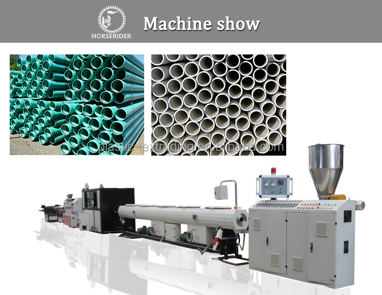 Plastic Pipe Making Machine PVC/UPVC/CPVC/PVC Pipe Extruding Machine for Sale
