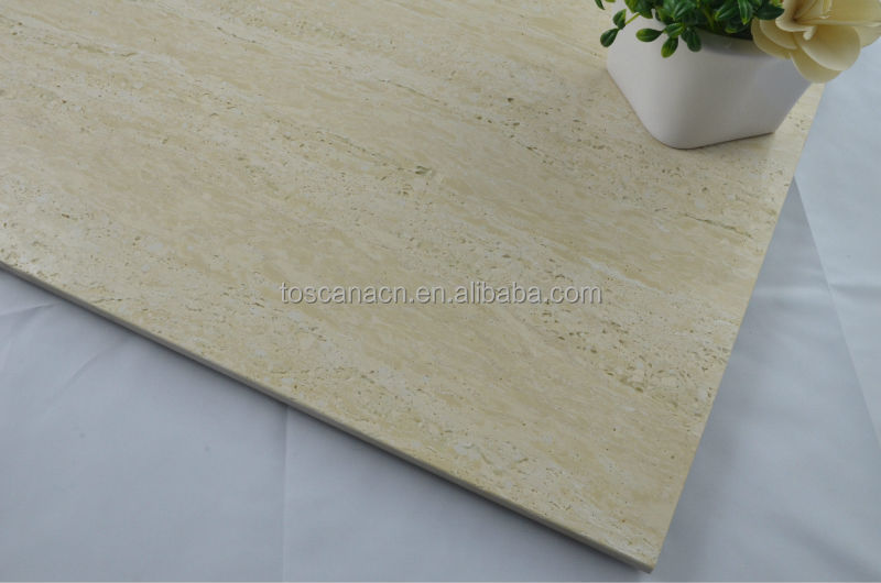Foshan color beige de m rmol travertino m rmol baldosas de for Palmetas de marmol