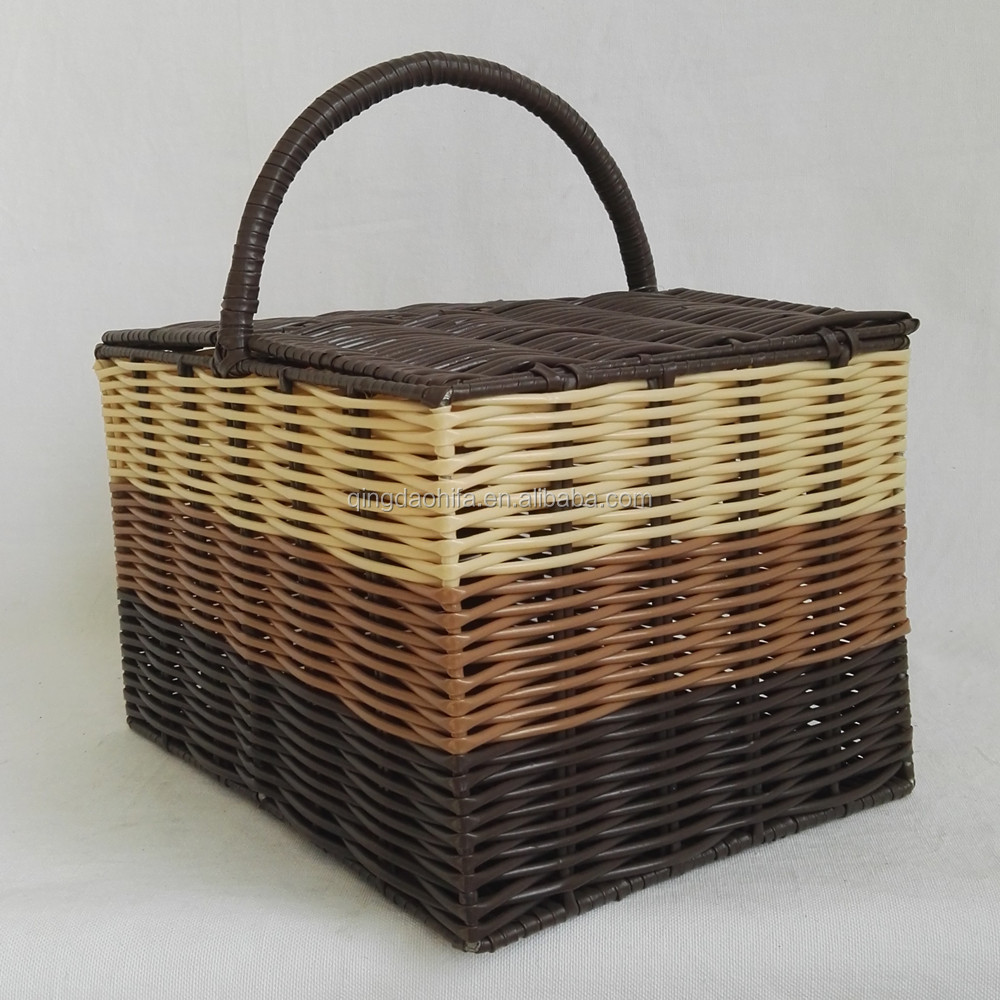 Woven Strapping Floor Bin Plastic for Storage