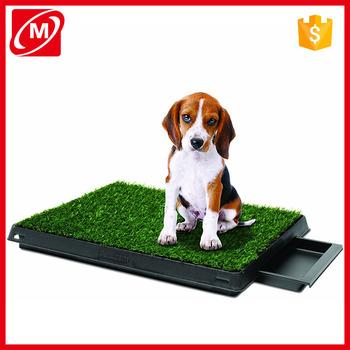 Portable Indoor Pet Potty Training Gr Restroom Loo Toilet Gl Mat Puppy