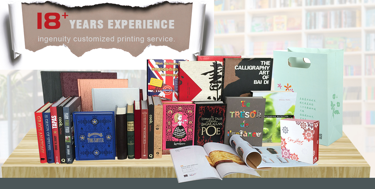 Shenzhen longyin printing packing co. ltd. book printing