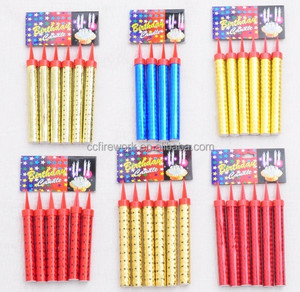 fireworks birthday candles for US market
