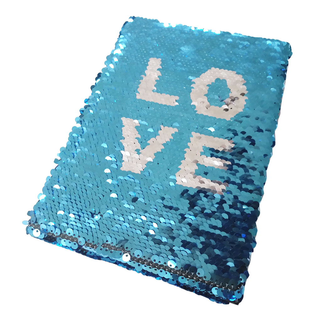 3c25a716c Mermaid sequin textile cloth material flip reversible sequin embroidery  fabric
