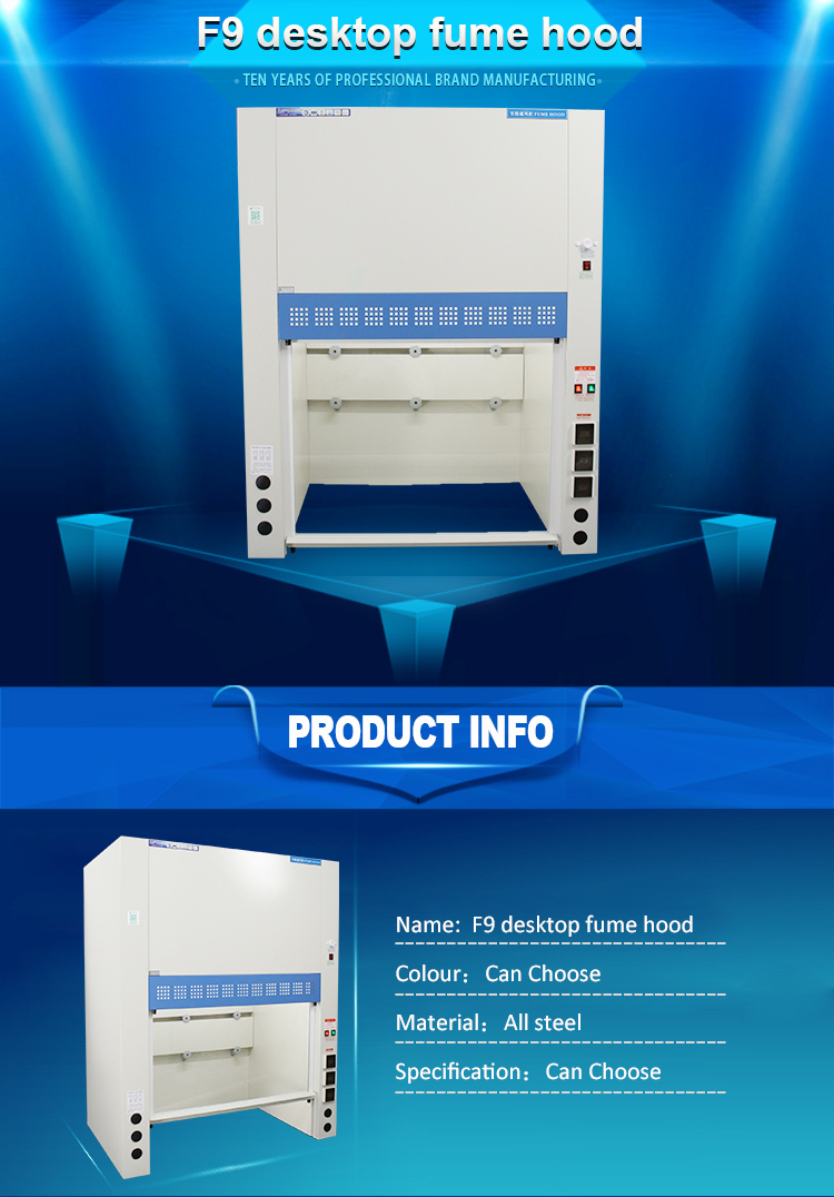 Customized cabinet fume hood lab equipment laminar flow hood price