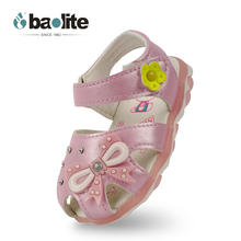 Baolite kids luminous sandals,sandals led shoes for children,light up sandals shoes for girls