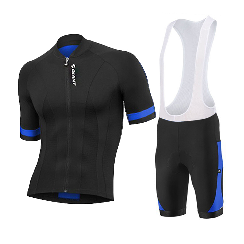 30959506c Get Quotations · 2015 cycling jersey roupa cicilsimo short sleeves bib  shorts suits cycling jersey black-blue