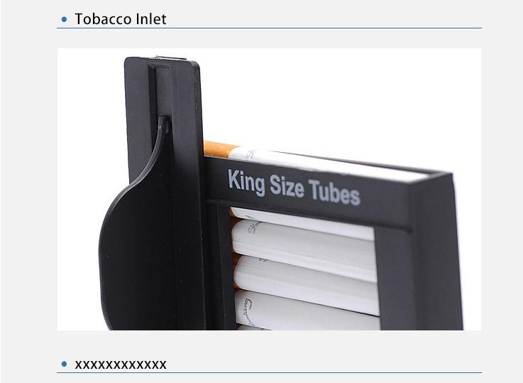cigarette maker machine automatic