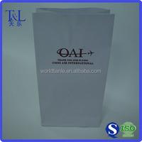 Greaseproof air sick paper bag, airsick bags, vomit paper bag
