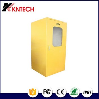 Sound proof telephone booth RF-19 kntech noise reduction 40dB Industrial Acoustic Hood