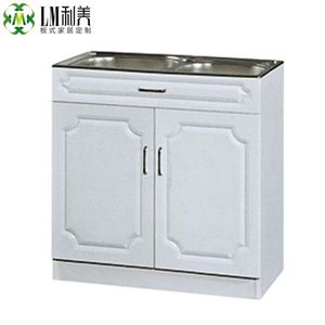High quality china metal kitchen cabinets for project