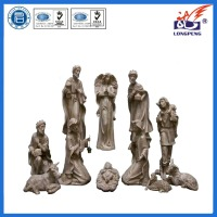 Inspirational Holy Family And Three Kings Religious Christmas Nativity Set, 11 Count