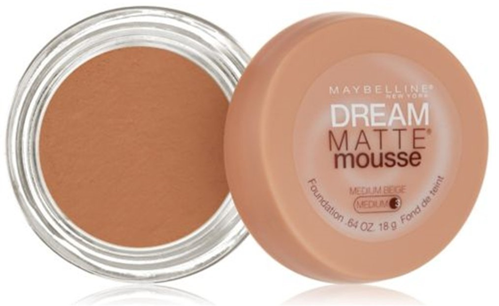 Maybelline Dream Matte Mousse Foundation – Medium Beige (Medium 3)