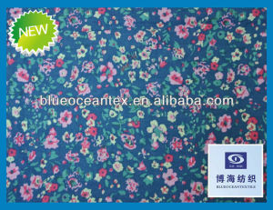 100% cotton printed voile japanese cotton tab top voile fabric