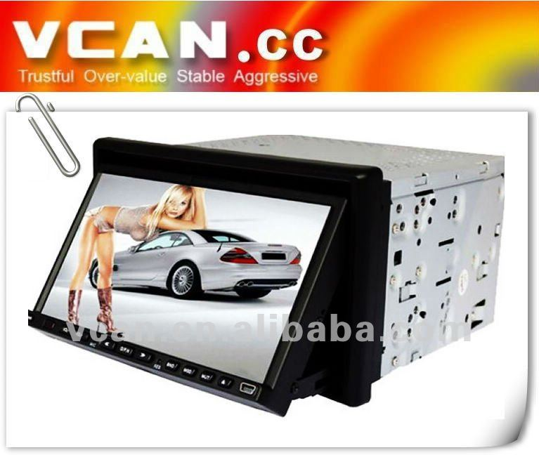 touch screen dvd car player for mobile phone with Dial/Answer/Stop Call vcan0319