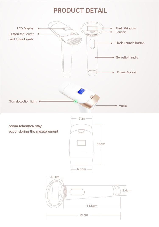 最高のブランド ipl 脱毛除去デバイス/レーザー美容機器
