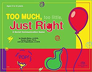 Too Much, Too Little, Just Right: A Social Communication Game