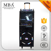 High quality retro bluetooth speaker led lamp home theatre
