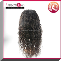 Wholesale Brazilian Human Hair Full Lace Wig with Baby Hair