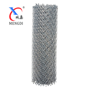 Low carbon iron 50mm used chain link fence