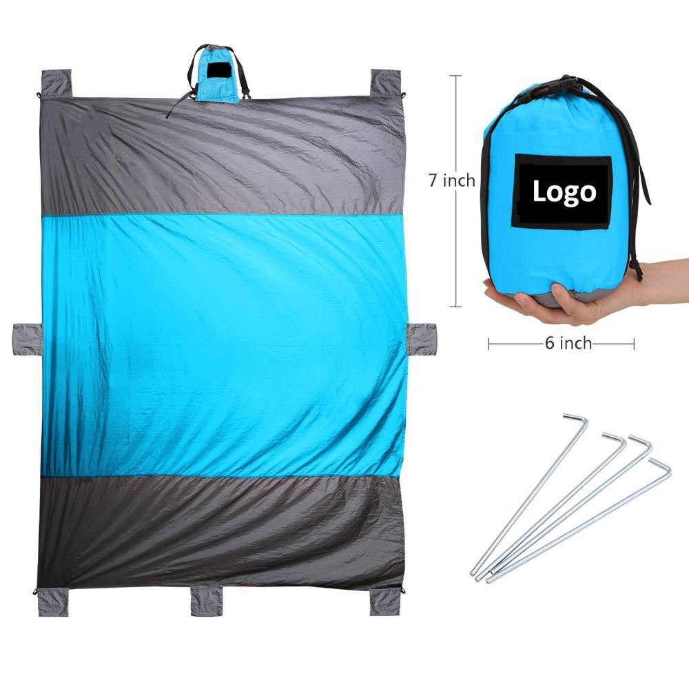 100 nylon sand proof beach blanket oversized 7u0027 x 9u0027 quick drying